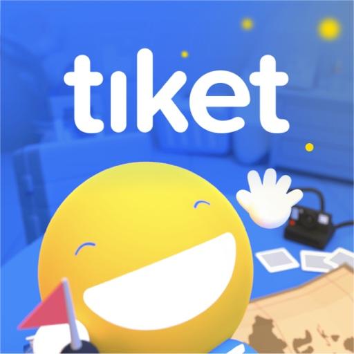 tiket.com - Hotel, Pesawat, To Do icon