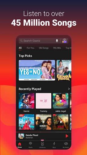Gaana Song Hotshots Video Music Free Hindi MP3 App screenshot 3