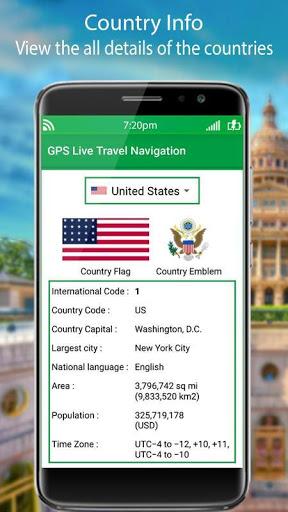 التجوّل الافتراضي المباشر وملاحةGPSوخرائطالأرض2021 4 تصوير الشاشة