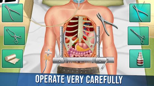 ألعاب طبيب جراحة القلب المفتوح الجديدة:العاب ممتعة 1 تصوير الشاشة