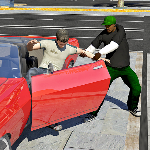 Real Gangsters Auto Theft-Free Gangster Games 2021 أيقونة