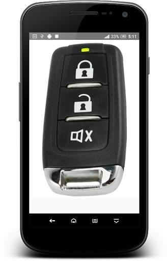 مفتاح السيارة عن بعد قفل محاكي 9 تصوير الشاشة