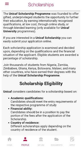 Unicaf | UK University Degree Scholarships screenshot 7