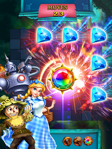 Jewels Star: OZ adventure 1 تصوير الشاشة