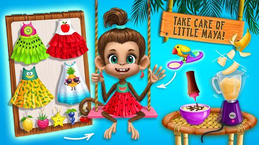 Jungle Animal Hair Salon 2 - Tropical Beauty Salon स्क्रीनशॉट 3