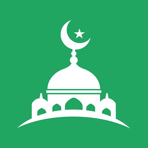 ikon Panduan Muslim:  Waktu Shalat, Azan, Quran & Qibla