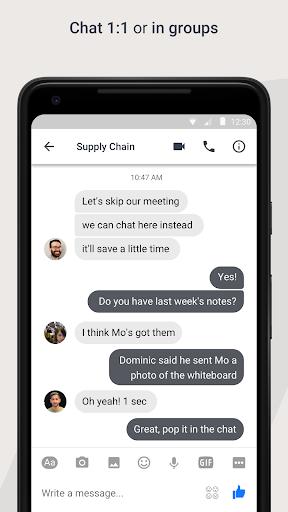Workplace Chat screenshot 2