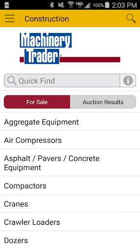 Machinery Trader screenshot 1