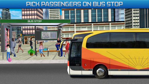Gas Station Bus Driving Games - New Games 2020 screenshot 3