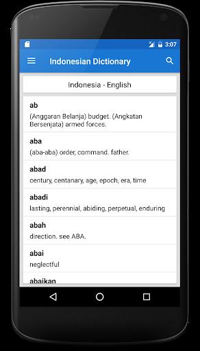 Kamus Bahasa Inggris Offline screenshot 2