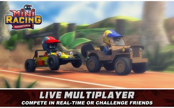 Mini Racing Adventures 1 تصوير الشاشة