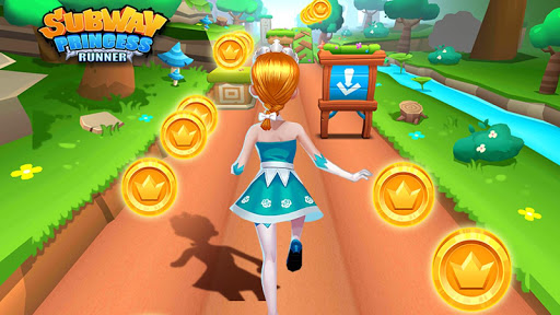 Subway Princess Runner скриншот 6
