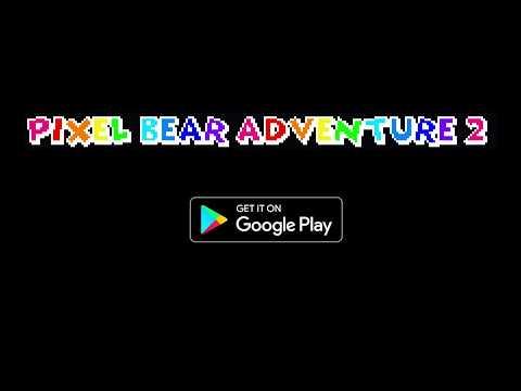 Pixel Bear Adventure 2 1 تصوير الشاشة
