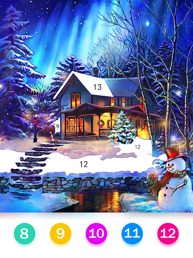 Color by Number - Happy Paint screenshot 9