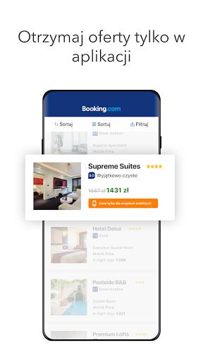 Booking.com Rezerwacja Hoteli screenshot 2