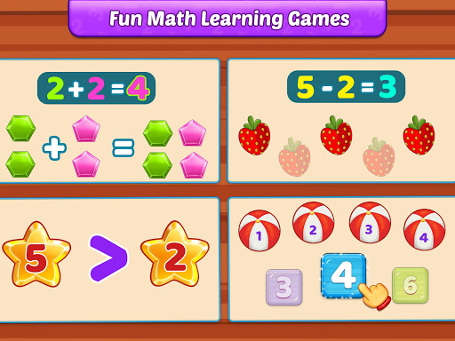 Math Kids - Add, Subtract, Count, and Learn 12 تصوير الشاشة