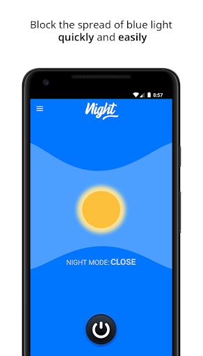 Night – Blue Light Filter, Night Mode and Eye Care screenshot 1