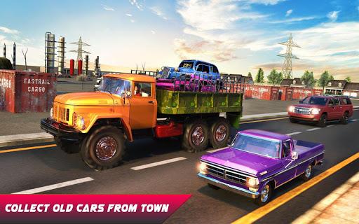 Car Crusher Crane Driver Dumper Truck Driving Game screenshot 14