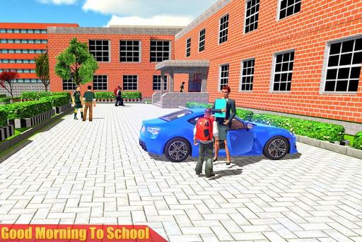 الظاهري مدرسة ثانوية المعلم 3D 1 تصوير الشاشة