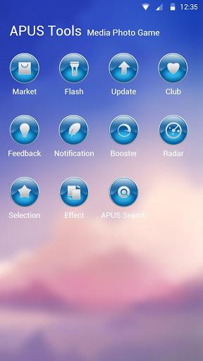 sunset-APUS Launcher theme 3 تصوير الشاشة