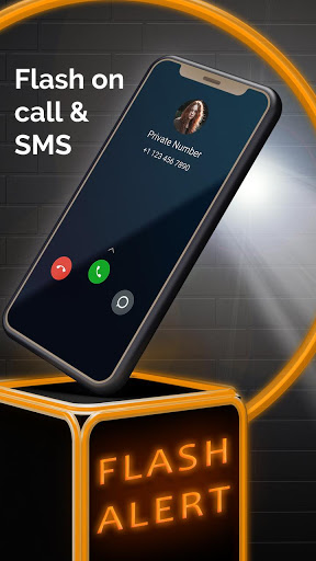Flash on Call and SMS, Flash alerts notifications screenshot 2