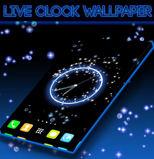 Live Clock Wallpaper screenshot 1