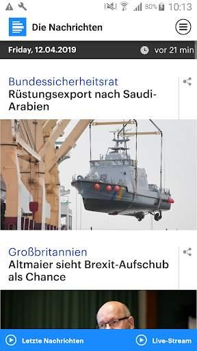 Dlf - Die Nachrichten screenshot 2