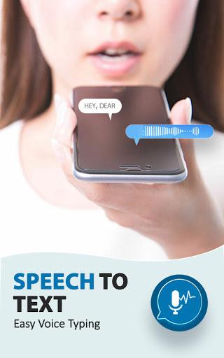 टेक्स्ट कन्वर्टर के लिए भाषण - वॉइस टाइपिंग ऐप 1 تصوير الشاشة