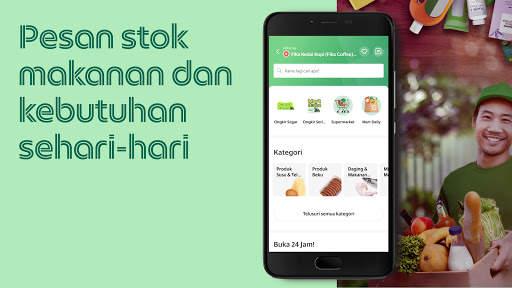 Grab: makanan, pengiriman, pembayaran, ojek, pulsa screenshot 4