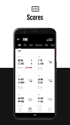 FOX Sports: Latest Stories, Scores & Events 3 تصوير الشاشة