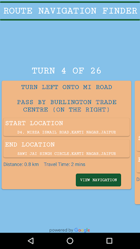 GPS Driving Route Finder screenshot 4