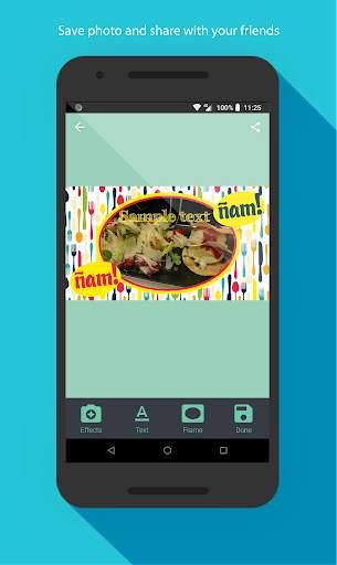 Food photo frames screenshot 4