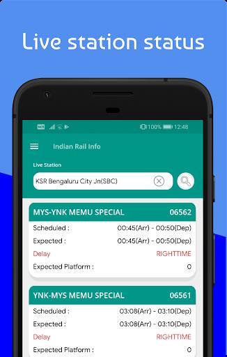 Live Train & Indian Railway PNR Status - IRCTC screenshot 4