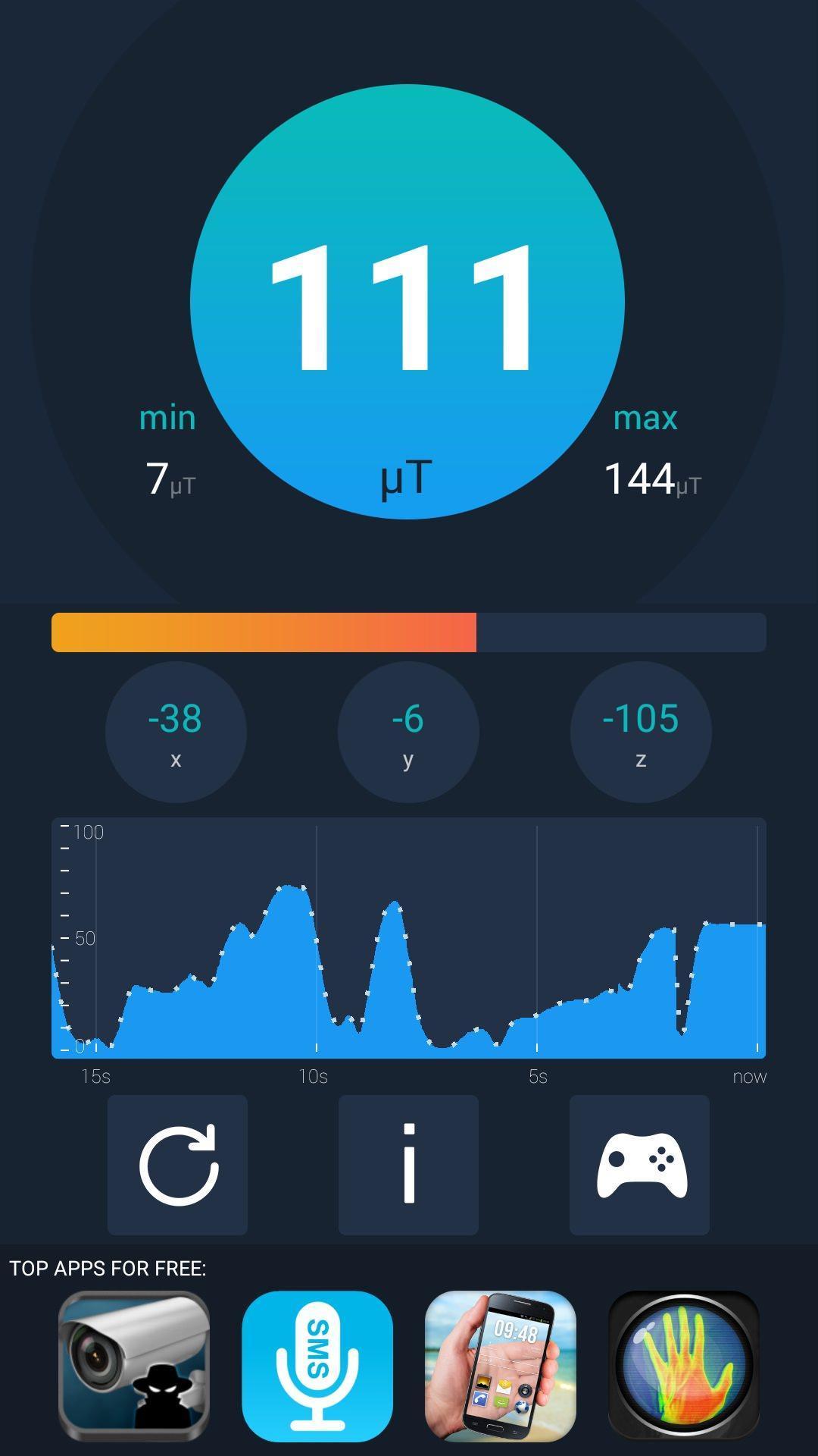 Metal Detector HD Simulator screenshot 3