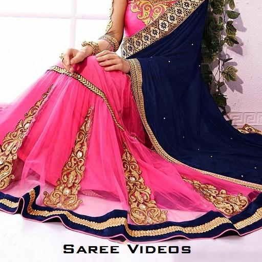 Saree Wearing Style Videos icon