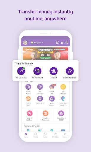PhonePe – UPI Payments, Recharges & Money Transfer screenshot 3