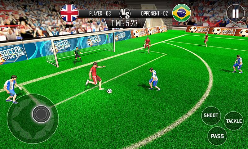 Real Football WC 2018 Dream League Soccer Stars 1 تصوير الشاشة