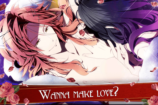 Blood in Roses - otome game / dating sim #shall we screenshot 6