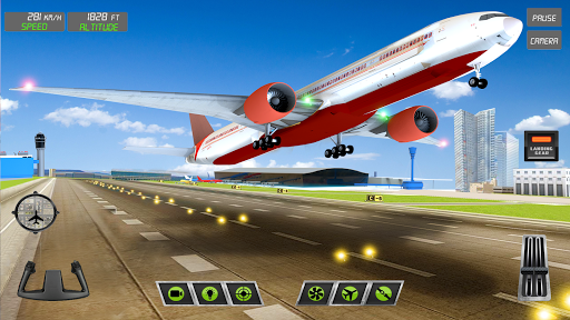 Pilot Flight Simulator 2020: Airplane Flying Games screenshot 9