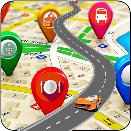 GPS Map Location Navigation icon