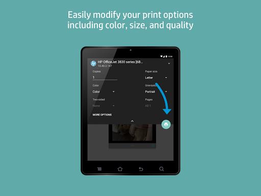 HP Print Service Plugin 8 تصوير الشاشة