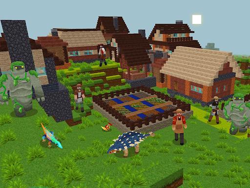 JurassicCraft: Free Block Build & Survival Craft screenshot 20