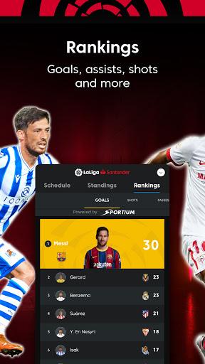 La Liga Official App - Live Soccer Scores & Stats screenshot 7