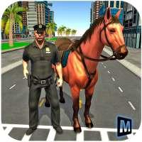Cảnh sát đuổi theo ngựa 3D on 9Apps