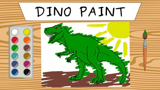 Dino paint screenshot 1