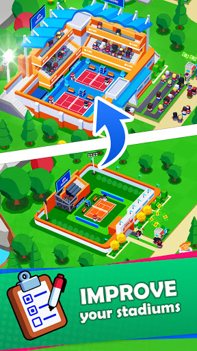 Sports City Tycoon - Idle Sports Games Simulator screenshot 3