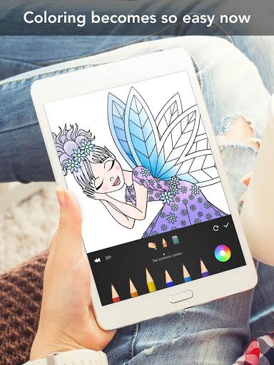 Princess coloring book screenshot 15