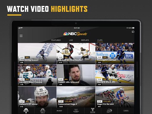 NBC Sports 8 تصوير الشاشة