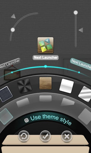 Dreamhouse Next Launcher Theme 3 تصوير الشاشة