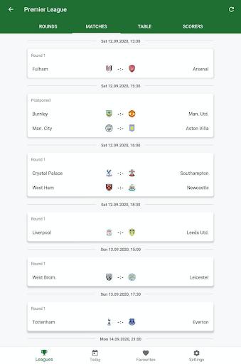 GoalAlert - The fastest football app 14 تصوير الشاشة